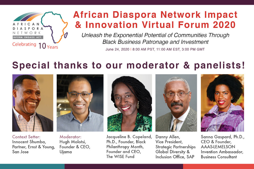 ADN virtual Forum Speakers
